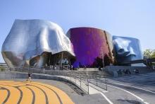 Музей музыки. Сиэтл, США