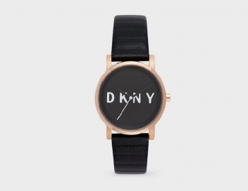 DKNY Soho Embossed Logo