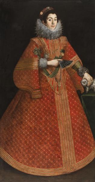 Неизвестный португальский художник. Портрет знатной дамы