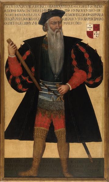 Неизвестный художник. Портрет Афонсу д'Албукерке, вице-короля Индии