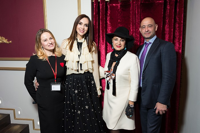 Анастасия Черепанова, Юлианна Винер, Ирина Александровна Винер-Усманова и Борис Мошкович