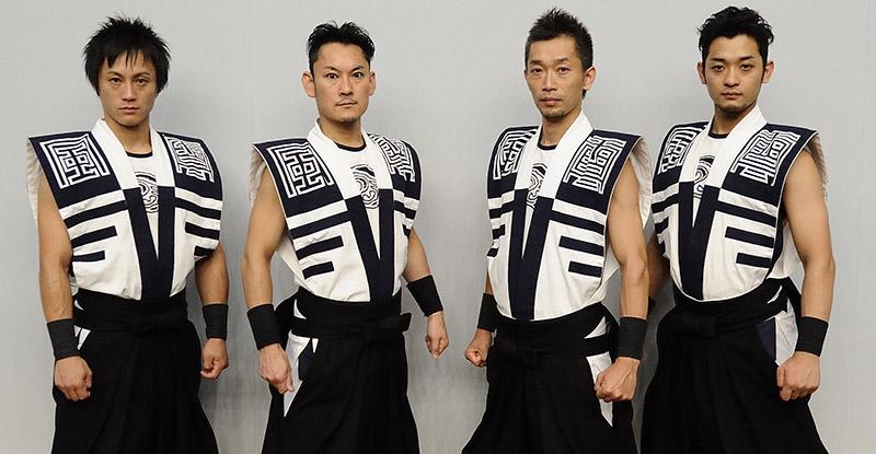 Барабанщики из Японии