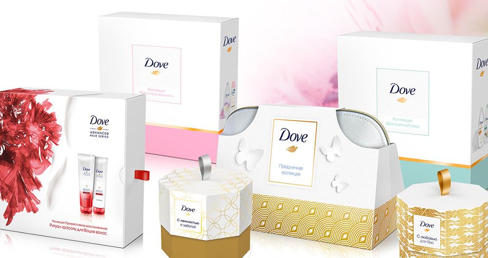 ыразите свою любовь вместе с подарками от Dove