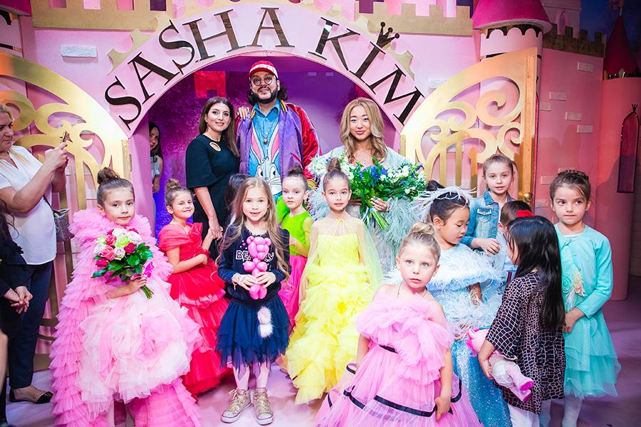 Алла-Виктория Киркорова открыла показ юного дизайнера детской одежды SASHA KIM