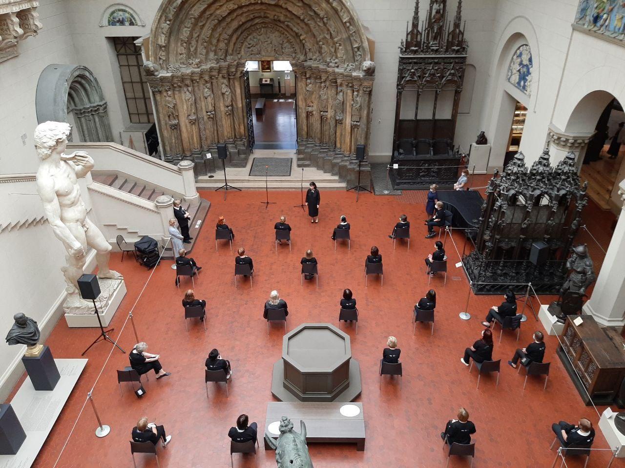 Пушкинский музей открылся дляпосетителей